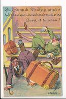 Carte Système Du Camp De MAILLY Avec Son Dépliant 10 Vues - Mailly-le-Camp