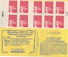 Marianne De Luquet, TVP 2 Carnet De 10 TP N° 3085-C1  (Essayez L'Enveloppe Timbrée), Neuf ** - Carnets