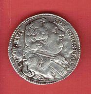 JETON EN ARGENT 1899 LOUIS XVI ROI CHRETIEN JETTON DES ETATS DE BRETAGNE ROYAUTE - Adel