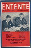 Entente Magazine Anglo Français Bilingue Anglo French   N° 61    Avril 1947 April    Le Pacte Franco Britanique - Libros, Revistas, Cómics