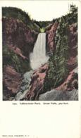 Yellowstone ParK Great Falls 360 Feet  RV Private Mailing Card - Estados Unidos