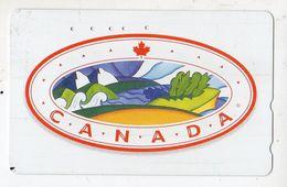 JAPON TELECARTE CANADA FEUILLE D'ERABLE - Canada