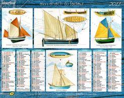 Calendrier Almanach Du Facteur 2011 Ille Et Vilaine (35) : Les Explorateurs - Calendars