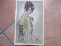 Donnine Woman Illustratore MAUZAN 1919 Viaggiata Affrancata  387 1 - Mauzan, L.A.
