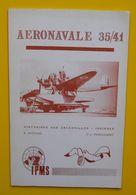 Brochure Aéronavale 1935/41 Historique Des Escadrilles Insignes Nicolas & Ehrengardt Aviation Très Illustré édit IPMS - AeroAirplanes