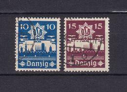 Danzig - 1937 - Michel Nr. 267/268 - Gestempelt - Dantzig