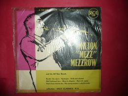 """LP33 N°4791 - MILTON """"MEZZ"""" MEZZROW - FORMAT 10"""" - A 130 219 - LES DISQUES SONT ECOUTES AVANT ENVOI - Jazz"""