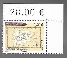 Andorre 2020 - Europa Antigues Rutes Postals (anciennes Routes Postales) ** - French Andorra
