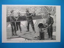 (1888) PARIS - Les Travaux De La TOUR EIFFEL -- Un Poste De Riveurs (se Compose De 4 Ouvriers Et D'une Forge Portative) - Ohne Zuordnung