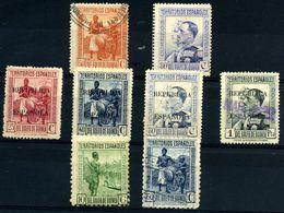 Guinea Española Nº 211, 212, 222, 224, 226, 227, 250. Año 1931/34. - Guinea Spagnola