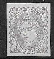 España 1870   Edifil ES 111 S - 1868-70 Gobierno Provisional