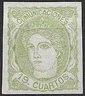España 1870   Edifil ES 114 S - 1868-70 Gobierno Provisional