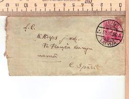 """Latvia Lettland Pc With Cancel ILINI """"A"""" 30.11.1936. - Latvia"""