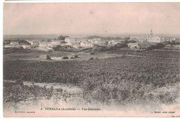 CPA 1 ZERALDA ALGERIE VUE GENERALE ED LACAZE 1916 - Otras Ciudades