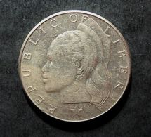 MONNAIE : ONE DOLLAR  - REPUBLIC OF LIBERIA 1970 - Liberia