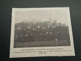 """Origineel Knipsel ( 4447 ) Uit Tijdschrift """" Ons Volk Ontwaakt """" 1924 :  Henderickx   Meerle ( Kempen ) - Old Paper"""