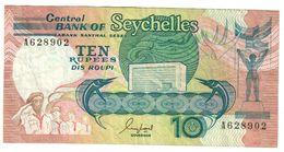 Seychelles 10 Rupees 1989 - Seychelles
