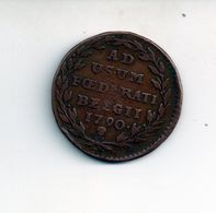 REF MON4  : Monnaie Old Coin Belgique AD ASUM FOEDERATI BELGII 1790 - Belgique