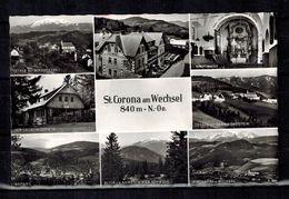 Österreich , Austria - St. CORONA Am Wechsel - Neunkirchen