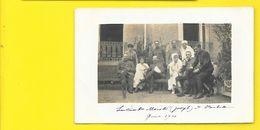 Carte Photo Lieutenant Mariotte Joseph à L'Hôpital () Militaria - Guerre 1914-18
