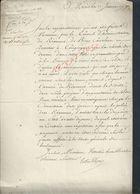 MILITARIA DOCUMENT MILITAIRE PARIS 1790 DU CONSEIL ADMINISTRATION DU RÉGIMENT DE BERRY CAVALERIE QUARTIER À COMPIÈGNE : - Documentos