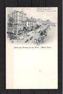 MONTE CARLO  -  HOTEL DES PRINCES Et Ses Villas - Carte Non Circulé  - Edit A. TRUB Et Cie Aarau N° 1597 - Alberghi