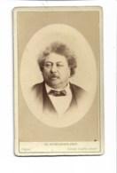 Photo Cdv Fin 19ème, Alexandre Dumas, Phot. Reutlinger - Old (before 1900)