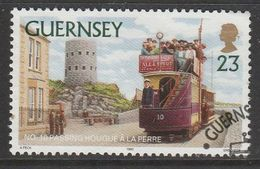 Guernsey 1992 Trams 23p Multicolored SW 569 O Used - Guernsey