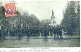 N°702 R -cpa Paris -les Jourénes Historiques- 1er Mai 1906- - Demonstrationen