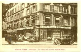 N°708 R -cpa Paris (17è) Manoir Topsy -restaurant- - Hotels & Gaststätten