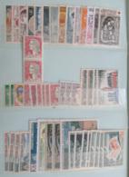 France - Stock De Timbres Modernes Neufs Pour Affranchissement Dont Blocs Et 1 Carnet - Faciale 407,03F Soit 62,05 € - Stamps