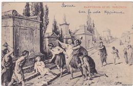 Italie : Lazio : ROME : Et Ses Monuments : Martyrdom Of ST. - TARCISIUS : La Voie Appienne  - Religion - ( Carte Rare ) - Other Monuments & Buildings