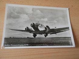 Original AK Junkers Ganzmetallflugzeug Ju 52 Gel. - Aviation