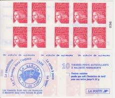 Marianne De Luquet, TVP Rouge 2 Carnets De 10 TP N° 3419-C1 (Un Siècle De Sciences, Pénicilline, ADN ...), Neuf ** - Carnets