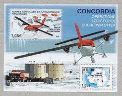 Rou18 - TAAF - F925 **MNH De 2020 - Avion DHC - 6 TWIN OTTER A Concordia. - Terres Australes Et Antarctiques Françaises (TAAF)