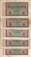 ALLEMAGNE 20000 MARK 1923 VF P 85 ( 5 Billets ) - [ 3] 1918-1933 : República De Weimar