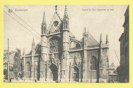 * Dunkerque (Dép 59 - Nord - France) * (Nels, Phono Photo Tournai) église Saint Eloi, Kerk, Church, Kirche, Rare - Dunkerque