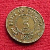Guyana 5 Cents 1977 KM# 32 Guiana - Guyana