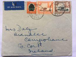 KENYA UGANDA & TANGANYIKA / KUT George VI Air Mail Cover Sent To Ireland - Kenya, Uganda & Tanganyika