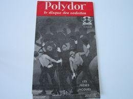 LES FRERES JACQUES - Disques POLYDOR - Supplément N°8 Février-Mars 1952 - Les Derniers Disques Parus - Musik & Instrumente
