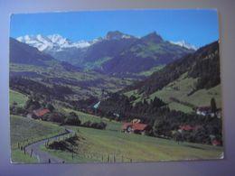 Suisse - Swiss - Berne - HEUSTRICH Kandertal - Bad Heustrich --- Blümlisalp - Aermighorn - Gehrihorn - Altels --- 1979 - BE Berne