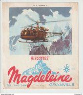 BISCOTTES  MAGDELEINE  GRANVILLE ----  ALOUETTE II - Trasporti