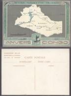 CONGO CP MARITIME ANVERS-CONGO  (DD) DC-8052 - Congo Belge