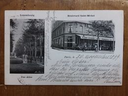 Cartolina Spedita Da Parigi A Berna Nel 1899 + Spese Postali - Parchi, Giardini
