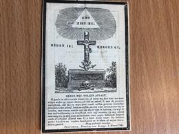 Pauwels Ludovicus *1783 Heestert Zwevegem FRANSE Leger Veldtocht Spanje Duitsland Legioen Pruisen Moscowa Par+1849 Moen - Overlijden