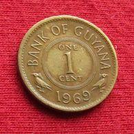 Guyana 1 Cent 1969 KM# 31 *V1 Guiana - Guyana
