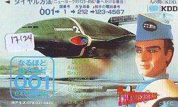 Télécarte Ancienne Japon 110-011 * MANGA *  THUNDERBIRDS (17.124) ANIME Japan  Phonecard * COMICS * - BD