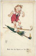 Illustrateur    Mich    Bob Fait Du Sport   Le Sky - Mich