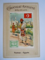 Chromo Chocolat Antoine Bruxelles 9 Facteur Egypte - Chocolate