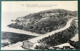 CPA - 1136 PORT-VENDRES - Camp De La Mauresque Des Jeunesses Laîques Républicaines - (B258) - Port Vendres